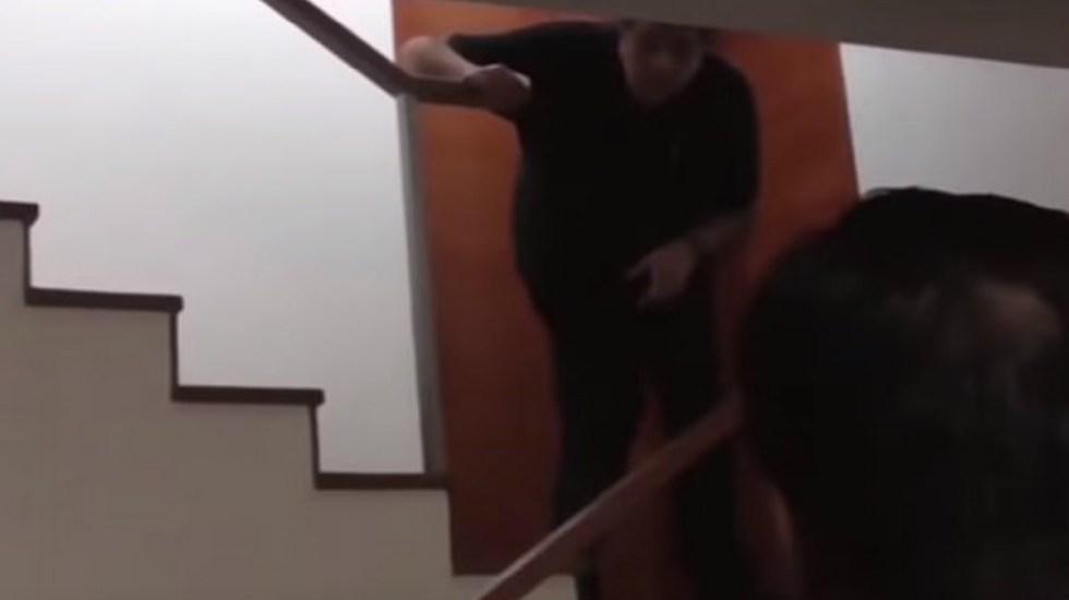 #Video Últimos momentos de Alan García antes de suicidarse - Alan García momentos antes de suicidarse