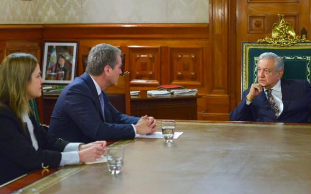 AMLO se reúne con el director de la Organización Mundial de Comercio - Foto de AMLO