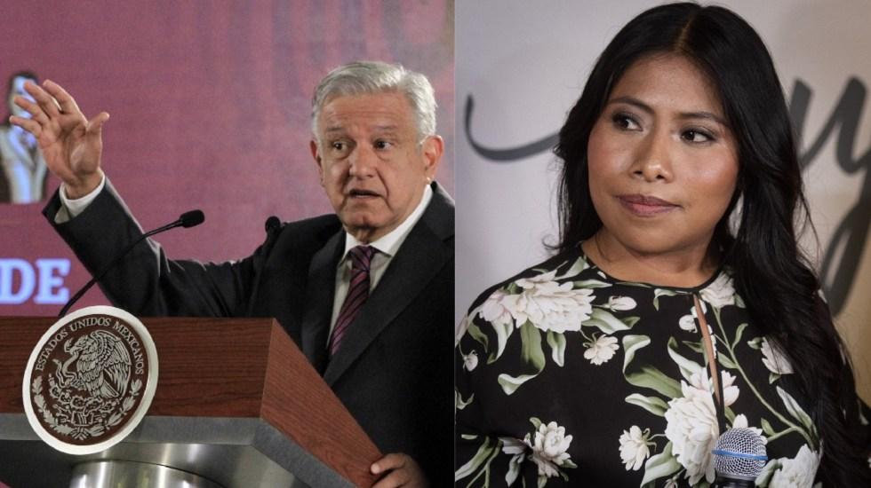 AMLO y Yalitza Aparicio, entre los más influyentes de 2019 para Time - AMLO y Yalitza Aparicio. Foto de Notimex / LDD
