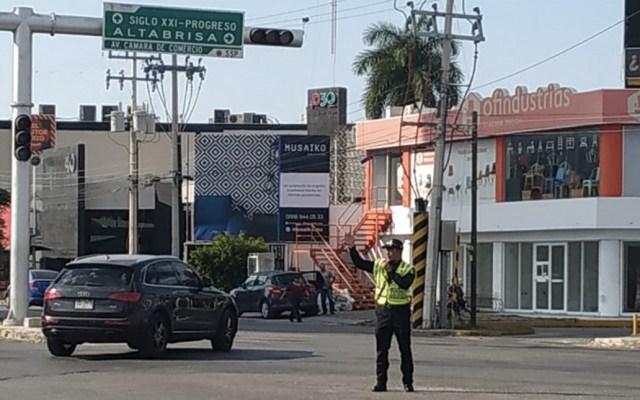 Quemazón en cañaveral provocó apagón en Península de Yucatán - Foto de @ConAcento_not