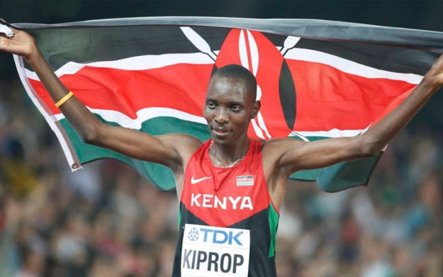 Suspenden cuatro años al keniano Asbel Kiprop por dopaje - Foto de Twitter