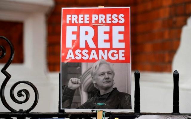 Julian Assange se niega a ser extraditado a Estados Unidos - Foto de AFP