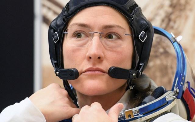 Astronauta buscará romper récord de permanencia de una mujer en el espacio - Foto de AFP