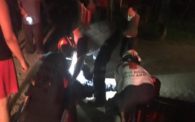 Ataque a la salida de jaripeo deja dos muertos en Oaxaca - Atención a heridos. Foto de @Spiaboc