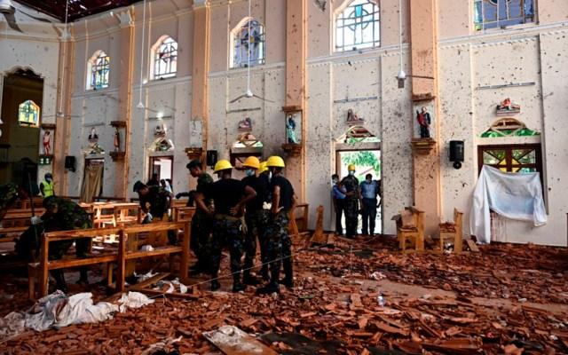 Iglesia en Sri Lanka celebrará misa televisada tras atentados - Atentado en Sri Lanka iglesia