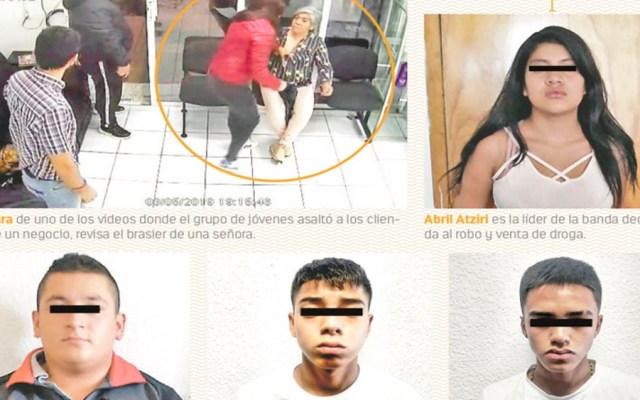 Familiares abandonan en PGJ a banda de menores delincuentes - Foto de Contra Réplica