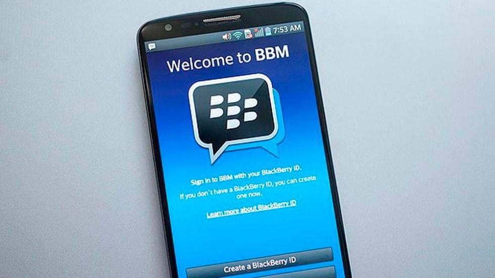 BlackBerry Messenger dejará de funcionar en mayo - Foto de Daily Mail