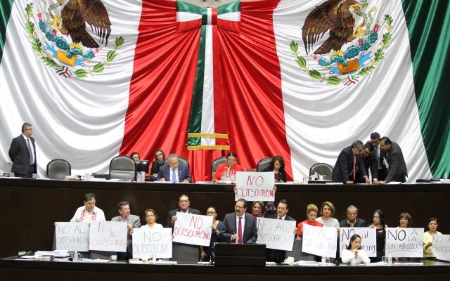 Continúa debate en San Lázaro para aprobar nueva reforma laboral - Cámara de Diputados. Foto de Notimex-Óscar Ramírez.
