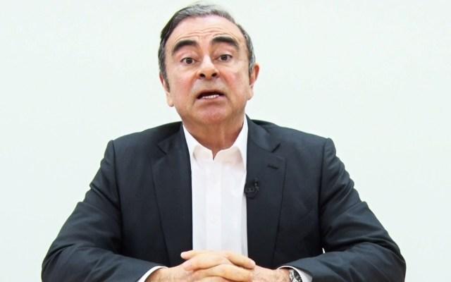 CarlosGhosn se dice inocente y acusa de traición a Nissan - Foto de AFP