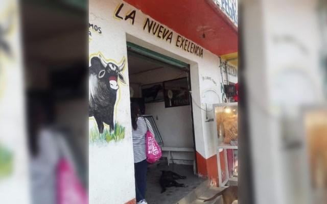 Denuncian a carnicero que presuntamente mató a perro en Chalco - Foto de Facebook