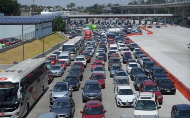 Continúa la salida de miles de vacacionistas de la Ciudad de México - casetas vacacionistas ciudad de méxico