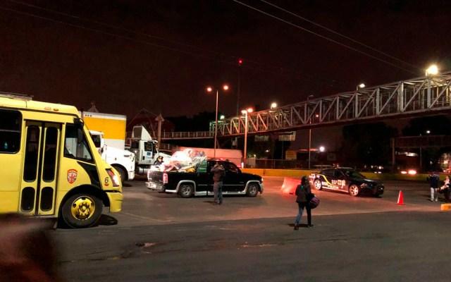 Cierres viales en Reforma y frente a Terminal 1 del AICM - Foto de @MayraEsRobles