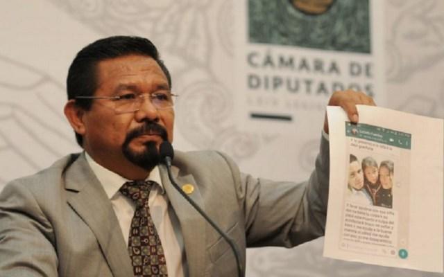Dan licencia temporal al diputado Charrez para enfrentar proceso - Cipriano Charrez. Foto de El Sol de México