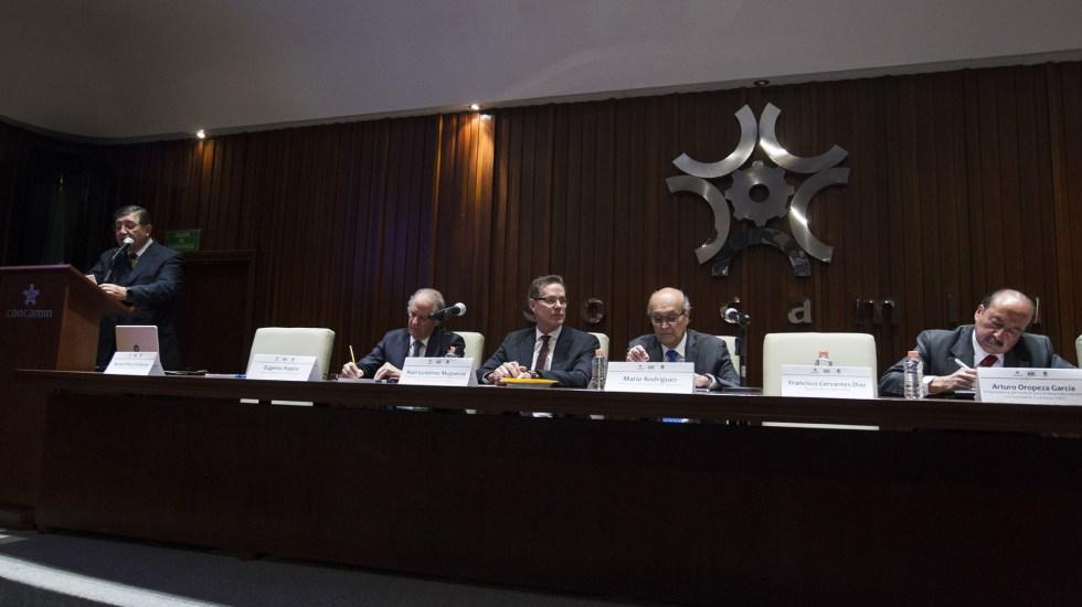 T-MEC podría ratificarse en mayo: Concamín - Foto de Notimex/José Pazos