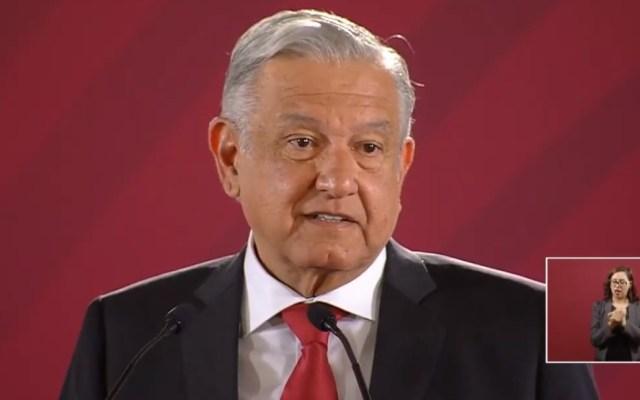 Le fue muy bien al movimiento liberal español: AMLO - Conferencia AMLO 29 abril. Captura de pantalla