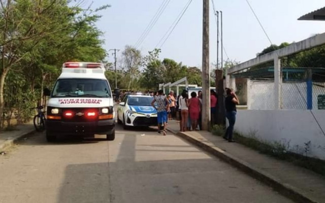 Papá asesina a su hija de 5 años en un kínder de Veracruz - Foto de @oas907