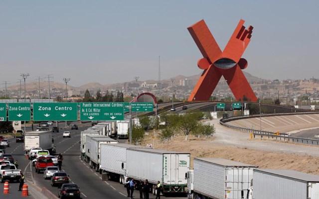 Caos en cruce fronterizo de Cd. Juárez cuesta 12 mdd la hora: Canacar - filas cruces fronterizos pérdidas