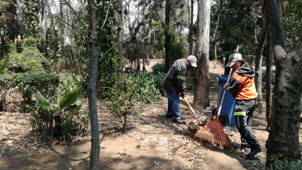 Alcalde de Cuajimalpa pide corregir error en tamaño de predio cercano a parque - Parque 'El Ensueño' en Cuajimalpa. Foto de @ImagenUrbaCuaj