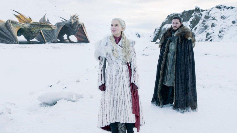 Estreno de Game of Thrones fue pirateado más de 54 millones de veces - Daenerys y Jon Snow. Foto de @GameOfThrones