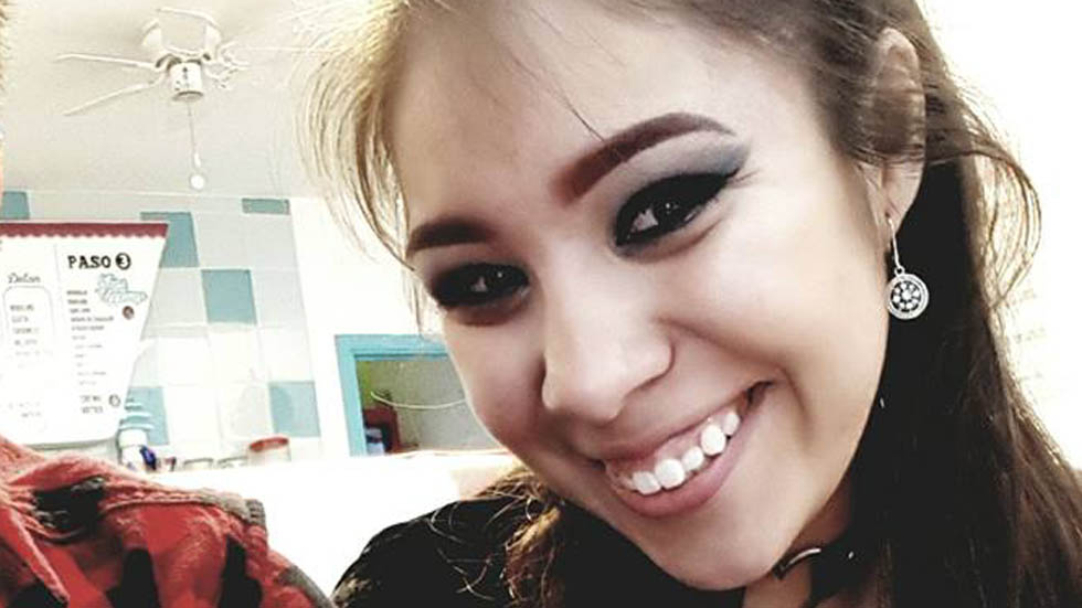 Asesinan a joven universitaria en Ciudad Juárez - Dana Lizeth Lozano. Foto de @dndrs00