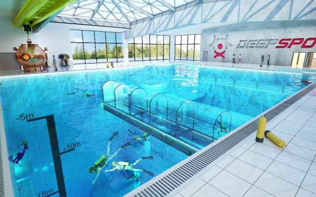 Esta será la piscina con mayor profundidad del mundo - Foto de Deepspot
