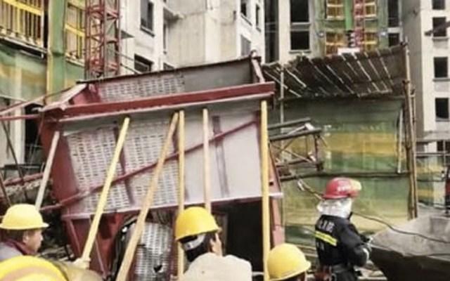 Mueren 11 personas tras desplomarse elevador en China - China elevador desplome