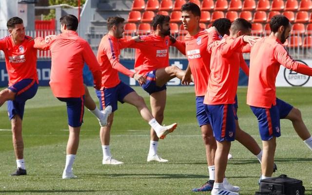 Diego Costa regresa a entrenar con el Atlético de Madrid - Foto de @Atleti