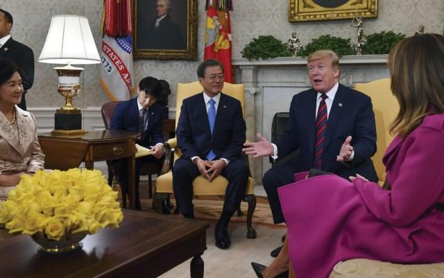 Donald Trump se reuniría nuevamente con Kim Jong-un - Foto de AFP