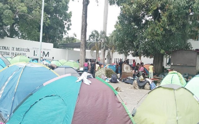 CNDH pide al INM estancia digna para migrantes en Chiapas - Estación Migratoria Siglo XXI Chiapas