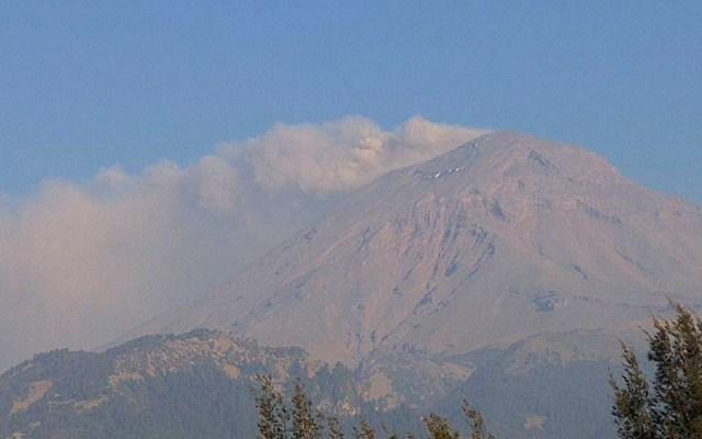 Popocatépetl emite 19 exhalaciones en las últimas 24 horas - Foto de @webcamsdemexico