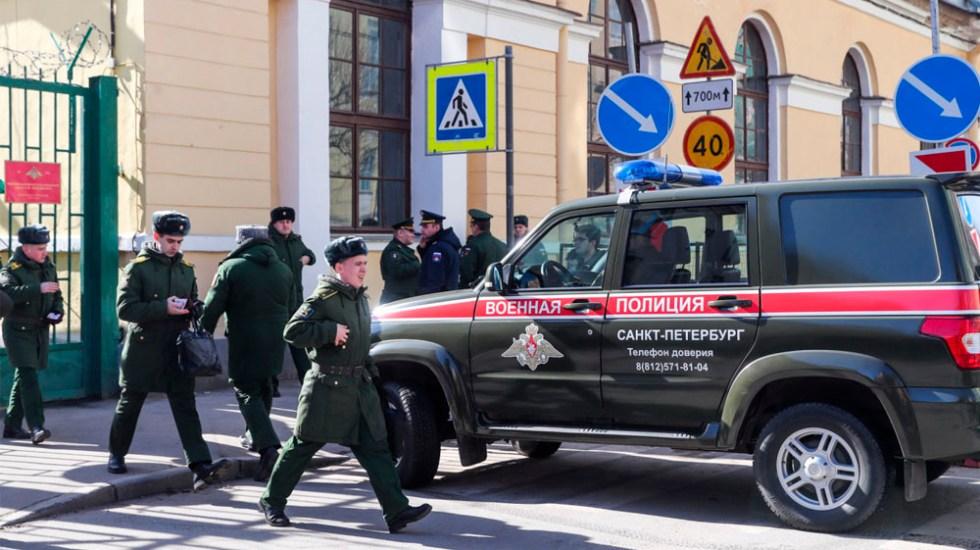 Explosión de artefacto deja tres heridos en academia militar de Rusia - Foto de TASS