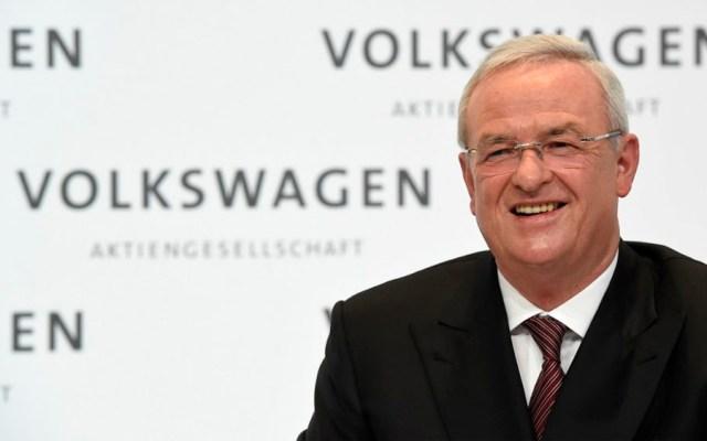 Imputan por fraude a expresidente de Volkswagen - Martin Winterkorn. Foto de AFP