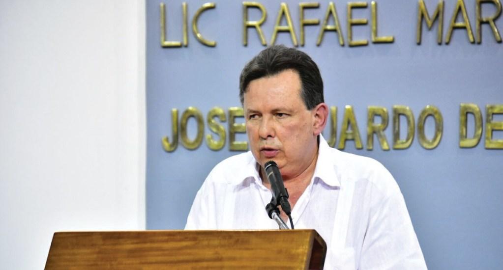 Muere exsecretario de Finanzas de Tabasco acusado de dar información falsa - Foto de Twitter @AmetRamosT