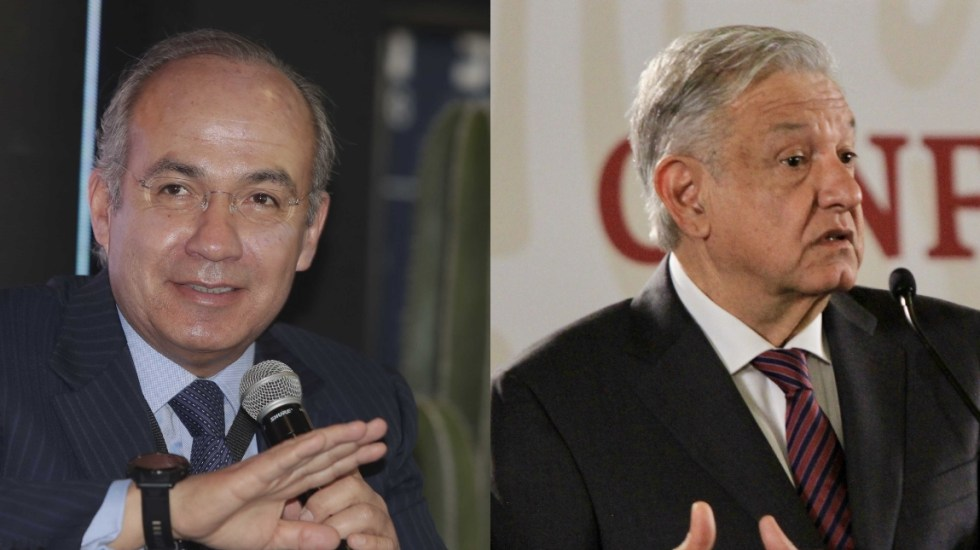 Felipe Calderón critica mensaje religioso de López Obrador - calderón lópez obrador comandante borolas