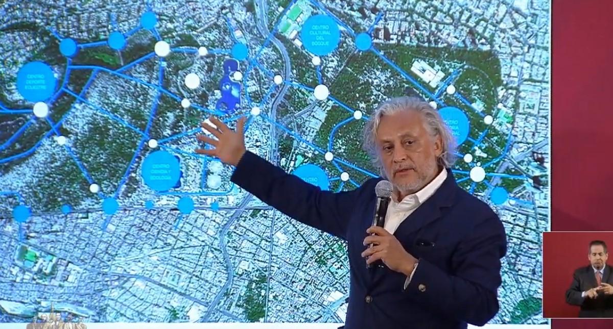 Gabriel Orozco se hará cargo del Bosque y Centro Cultural Chapultepec. Captura de pantalla