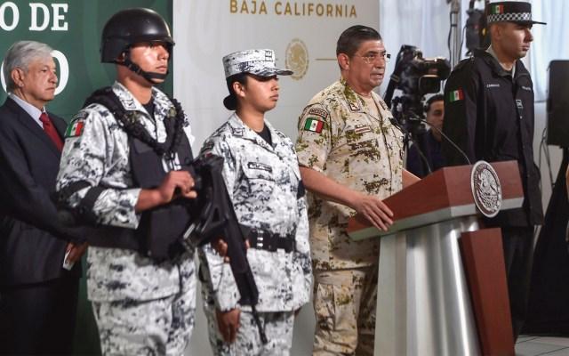 Hasta 60 años de cárcel para Guardia Nacional por unirse a delincuencia - Foto de Notimex-Presidencia.