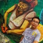 Asesinan al pintor Héctor Domínguez en San Luis Potosí - Foto de @elcandidato_mx