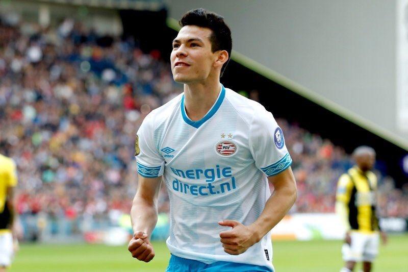 PSV pierde el liderato a pesar del doblete del 'Chucky' Lozano