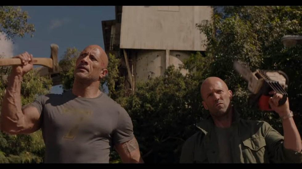 #Video Nuevo tráiler de Rápidos y Furiosos: 'Hobbs & Shaw' - Hobbs & Shaw. Captura de pantalla
