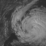 Huracán María estuvo asociado al cambio climático global: Estudio - El huracán María en 2017. Foto de NWS