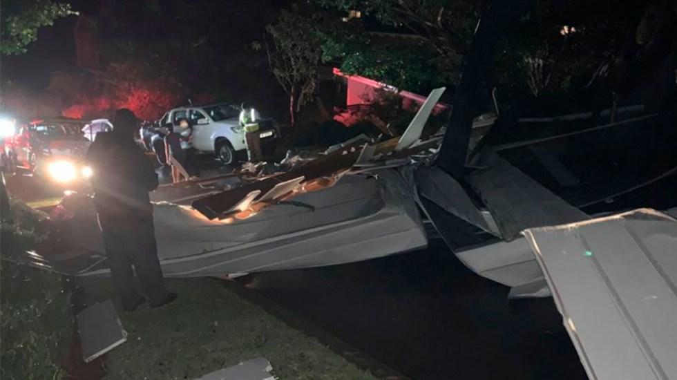 Mueren al menos 13 personas tras colapsar iglesia en Sudáfrica - Foto de IPSS Medical Rescue