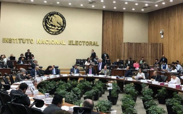 INE multa a Morena con más de 178 mil pesos - Foto de @INEMexico
