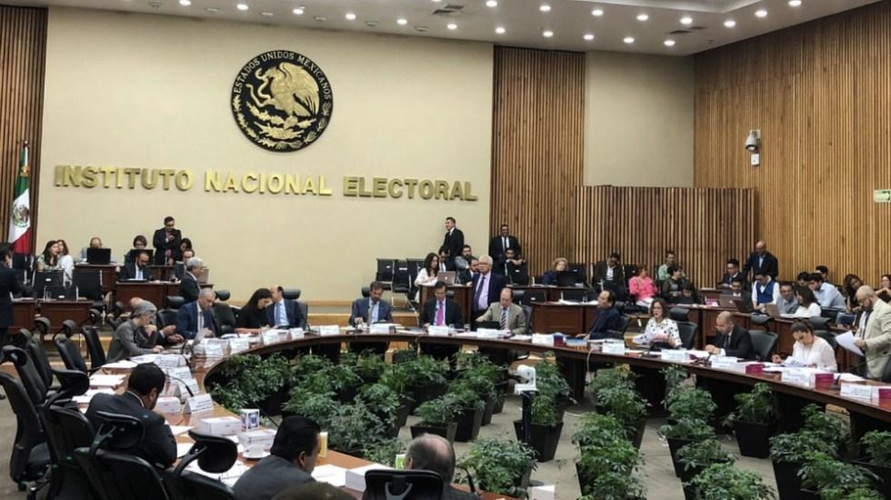 Condona INE a partidos multas que sumaban 30 mdp - Foto de @INEMexico