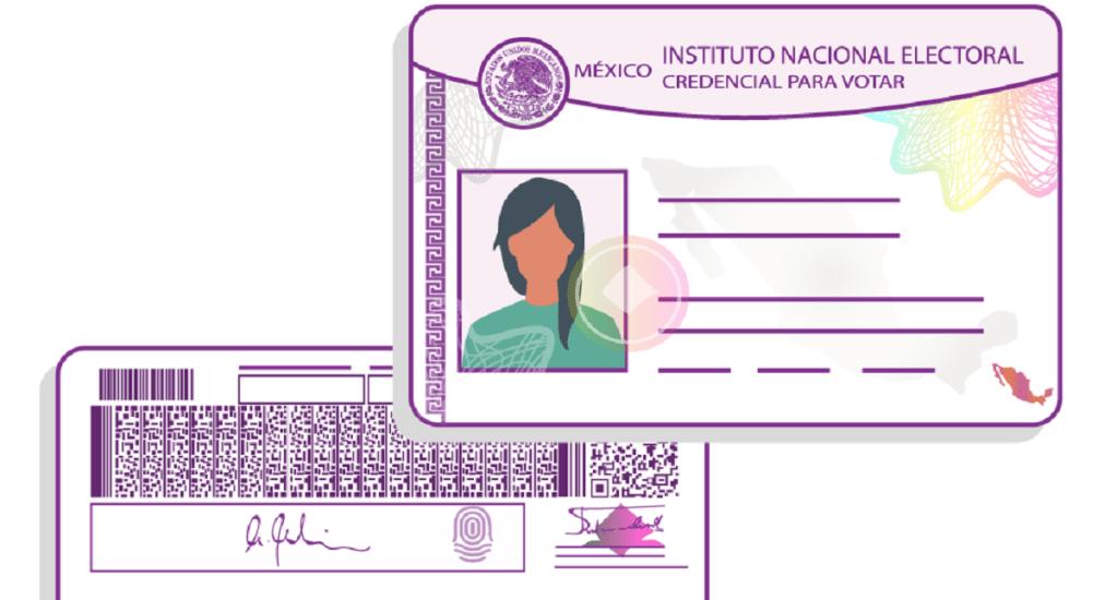 ¿Cuál es la diferencia entre padrón electoral y lista nominal? - Modelo de credencial para votar. Foto de INE