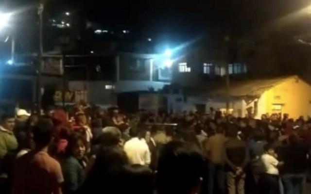 Intento de linchamiento en la alcaldía Álvaro Obregón - Foto de Facebook