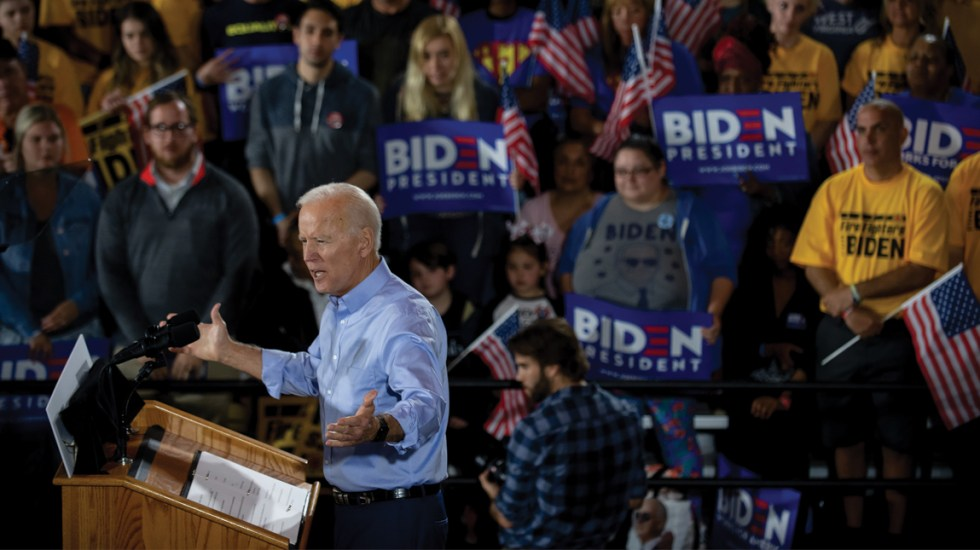 Joe Biden inicia su carrera hacia la Casa Blanca - Joe Biden
