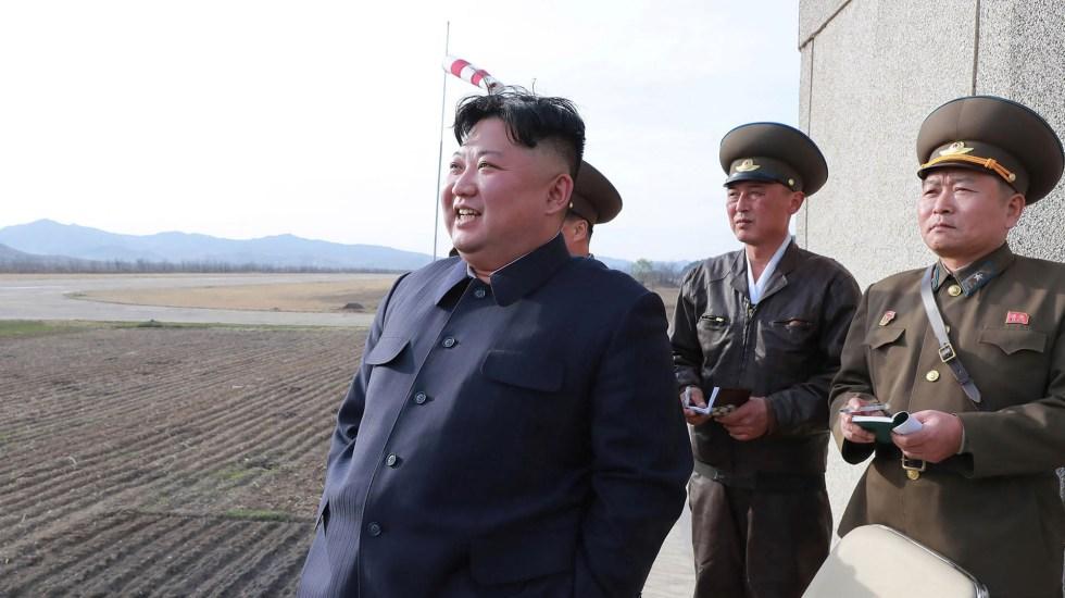 "Kim Jong Un recibe ""excelente"" carta de Donald Trump - Foto de KCNA vía KNS/AFP"
