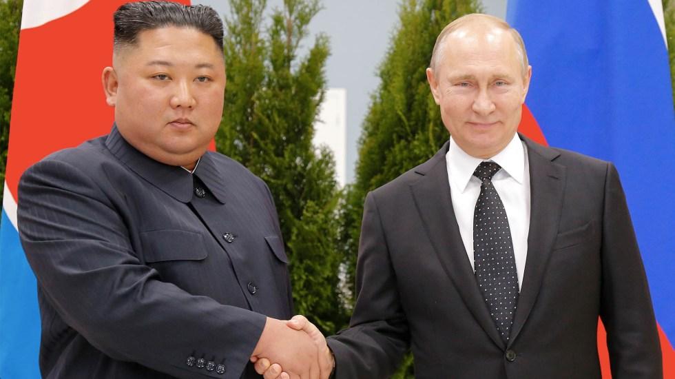 Inicia la cumbre entre Vladimir Putin y Kim Jong-un en Rusia - Vladimir Putin Kim Jong-un Rusia