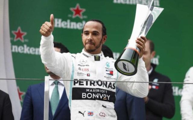 Lewis Hamilton gana el Gran Premio de China - Foto de @F1