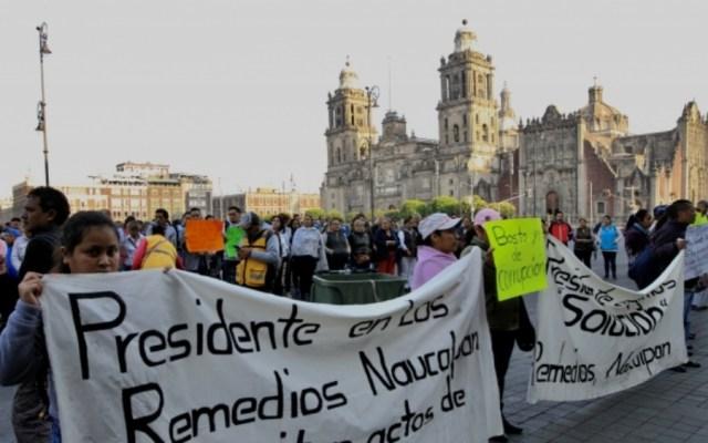 Prevén nueve movilizaciones en la Ciudad de México - movilizaciones